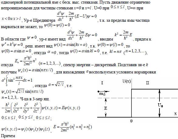 53прохождение частицы через потенциальный барьер